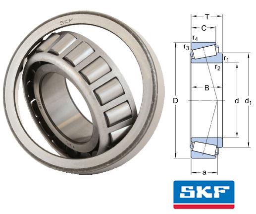 Vòng bi côn SKF