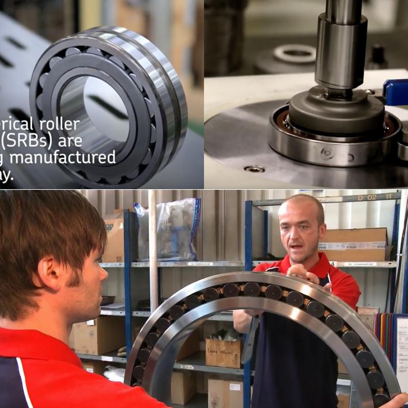 Quy trình sản xuất vòng bi tiêu chuẩn
