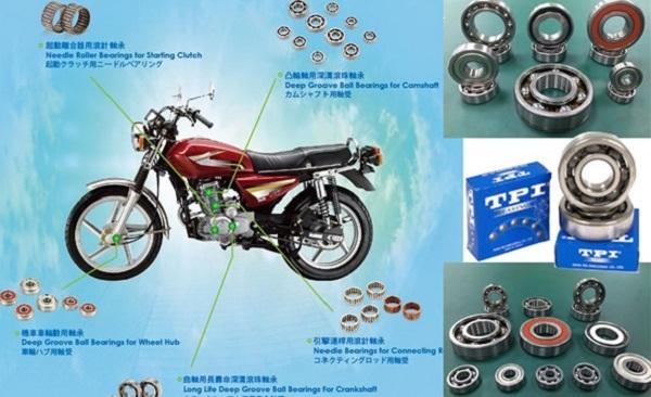 Những đặc điểm của vòng bi NSK sử dụng cho xe máy vượt đia hình